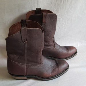 Men's Ad-tec Waterproof Boots Shoes 13 M Leather